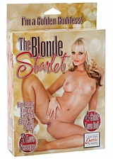 Poupée gonflable The Blonde Starlet